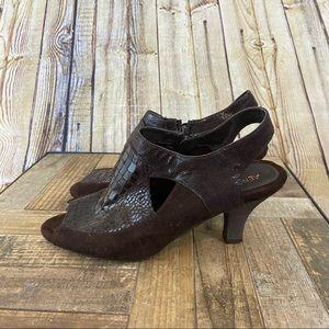 "Aerosoles ""Faxiom"" fabric dress shoes size 7.5"